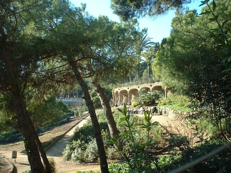Gaudi Gardens, Barcelona, Spain | Places to Visit in Spain ...