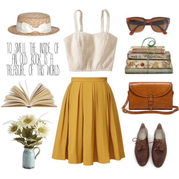 A fashion look from August 2013 featuring Xhilaration tops, Orla Kiely skirts y Oxford flats. Browse and shop related looks.