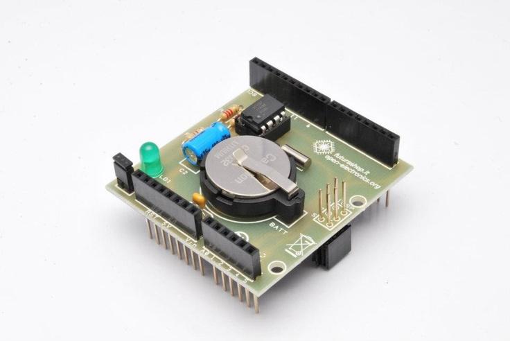 Arduino RTC Shield , by Futura Elettronica