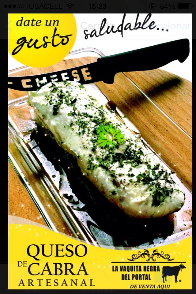 Date un verdadero gusto con PETRA quesos de cabra y Tortas Vaquita Negra del portal