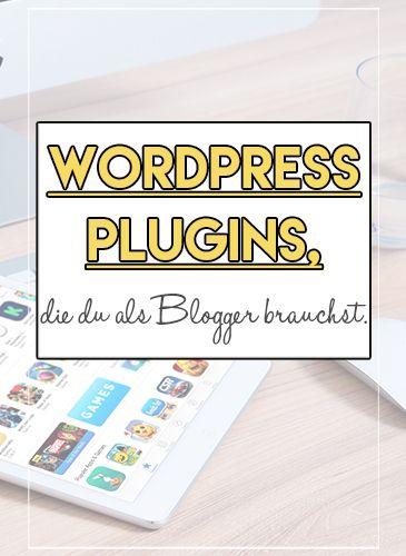 Du hast einen Wordpress Blog oder planst Diesen zu erstellen? Mit diesen Plugins baust du dir einfach einen ansprechenden Blog auf! Auf Lilycarnet.de