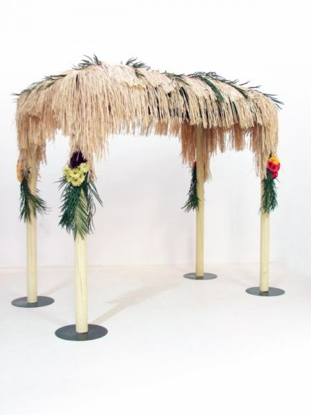 Tropical Canopy, Caribbean Theme Beach Party Ideas & Decorations | Event Prop Hire