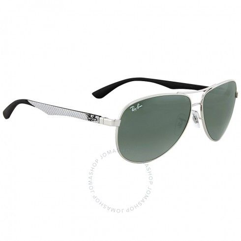 33ad59ac4b4 RAY BAN Aviator Silver Mirror Sunglasses RB8313 003 40