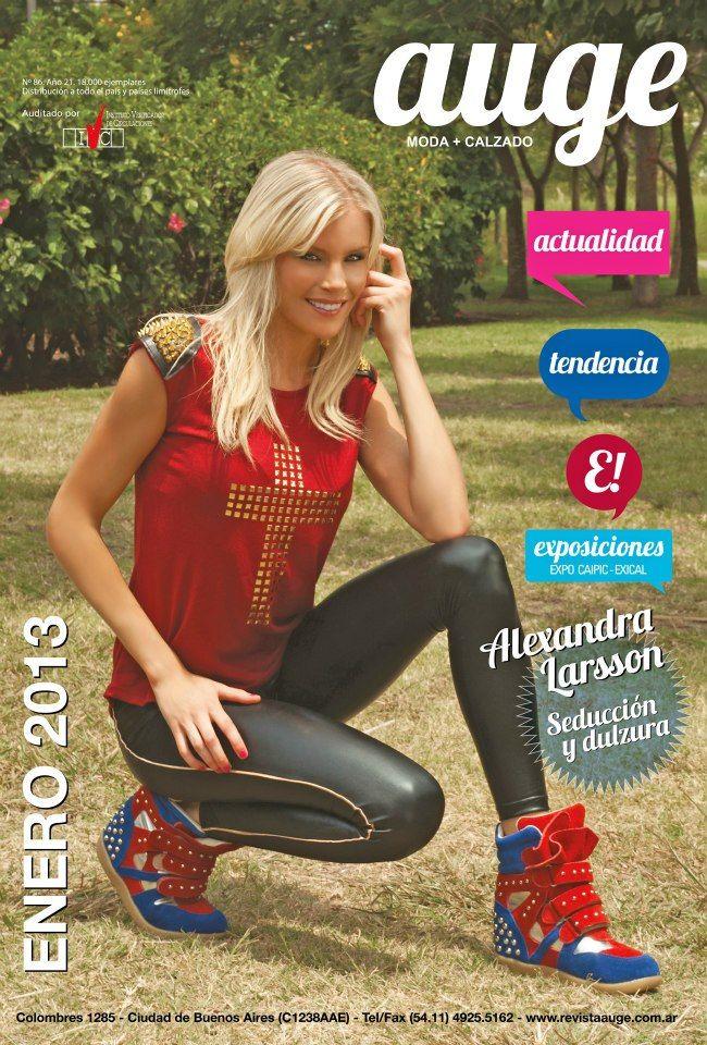 "Alexandra Larsson "" La Sueca"" maquillada por Celeste González para revista Auge !"