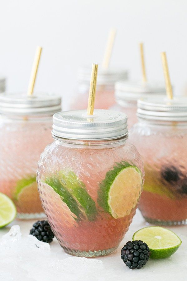 Blackberry Margarita Party Punch! - Sugar and Charm - sweet recipes - entertaining tips - lifestyle inspiration