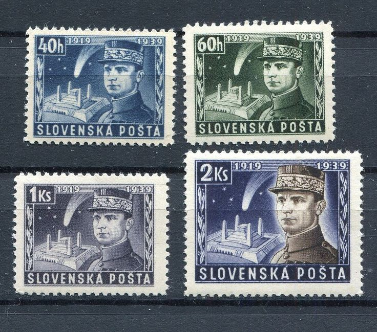 SLOVAKIA WW2 GERMAN PUPPET STATE 1939 SCOTT 34-37 PERFECT MNH  | eBay