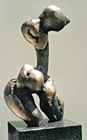 Quin bronze sculptures : Abstract