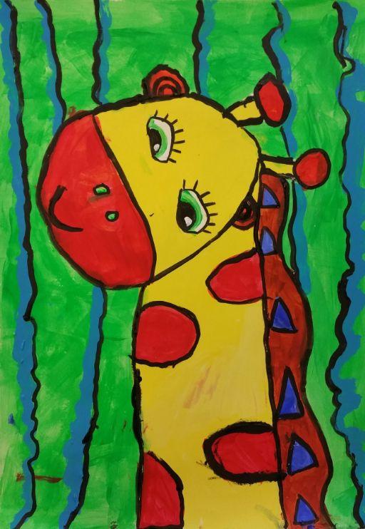 Abby the Giraffe