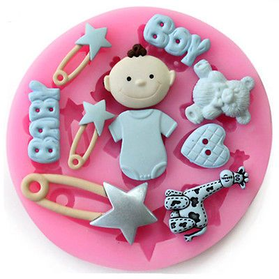 New fashion 3d #silicone baby pin diy mold sugarcraft #baking tool cake #decorati, View more on the LINK: http://www.zeppy.io/product/gb/2/272009998200/