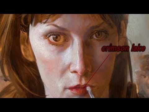 ▶ Painting Process(oil sketch) - Glazing Over Underpainting - YouTube ***it's a really beautiful portrait, actually. The video is fascinating to watch.. and I have to say, I'm surprised by that.