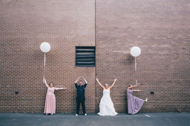 Cast in Colour - Fun Melbourne Wedding Photography