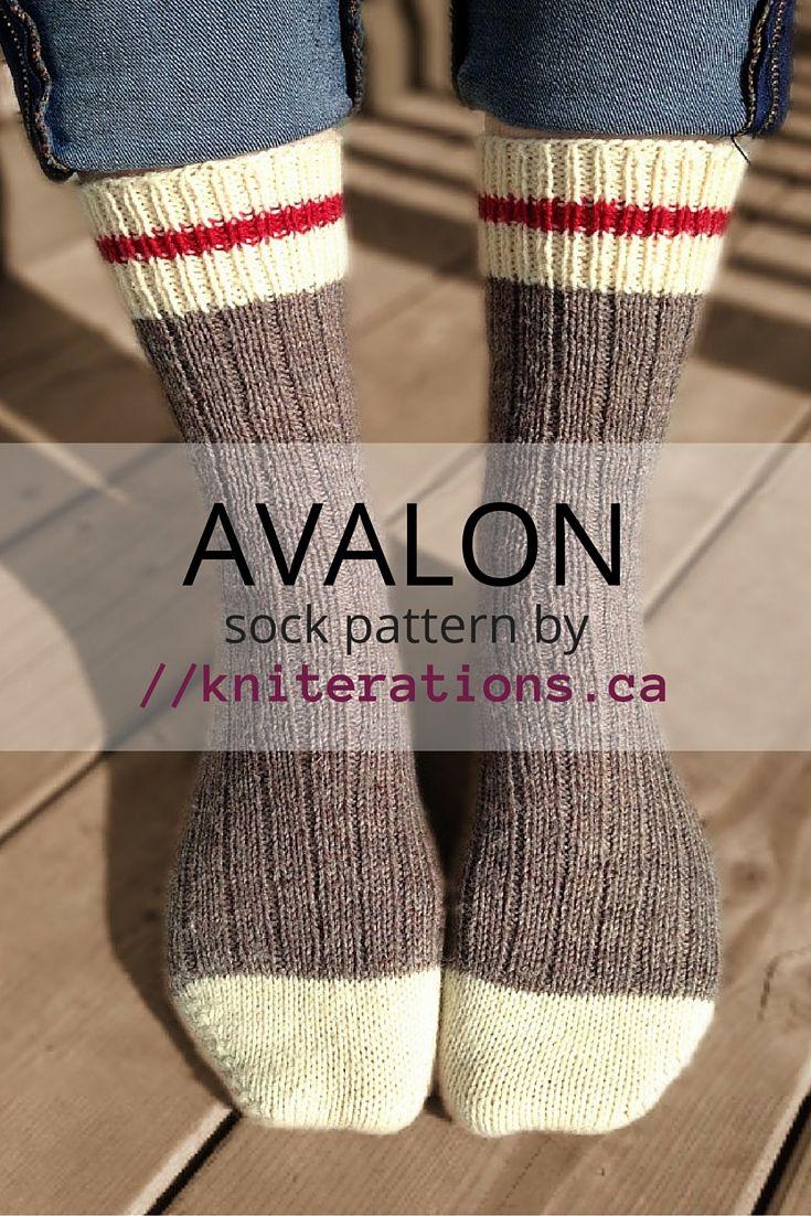 AVALON sock pattern by //kniterations