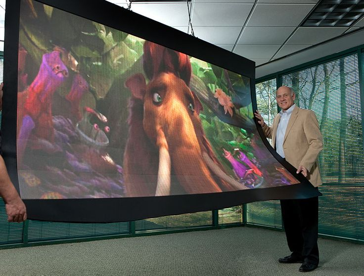 Large Screen Flexible/Bendable Video Display Available Now!