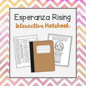 esperanza rising essay question