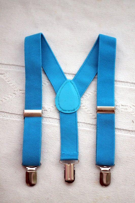 boy blue suspenders kids suspenders suspenders by LittleBoySwag, $19.00