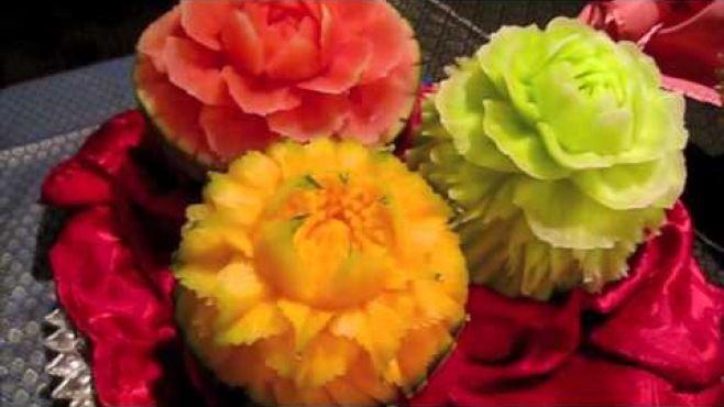 Meyve Sanatı - Karpuz Heykelleri - Meyve oyma dersleri - teknikleri, örnekleri ve ipuçlarını videolu anlatımı. Karpuz heykelleri