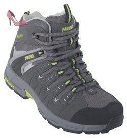 Meindl  Snap Junior Mid, chaussures de sport - outdoor mixte enfant - Gris - Grau (anthrazit/pistazie 9), 34 EU - Chaussures meindl (*Partner-Link)