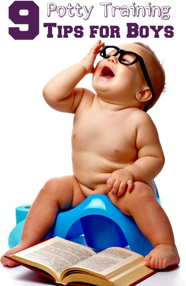 9 potty training tips for boys- I found this so helpful!