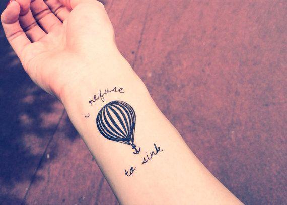 Je me refuse à couler tatouage ancre InknArt tatouage par InknArt