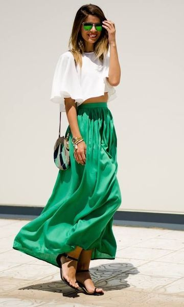 Look Pantone 2016: Green Flash a great color for dressing your truth type 3