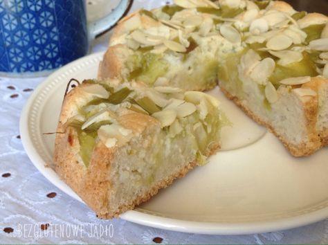 Pyszne ciasto z rabarbarem. Bez glutenu, bez skrobi, bez mleka. – Bezglutenowe jadło.