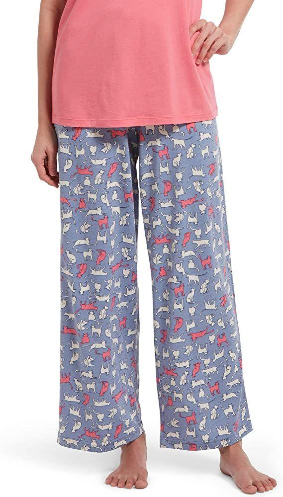 Hue Womens Long Pajama Sleep Pant Pajama Bottom