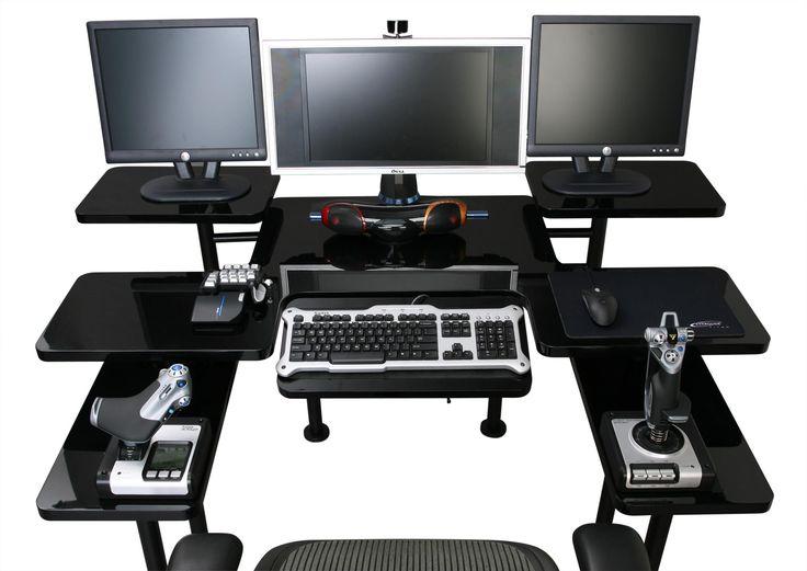 32 best Gaming Desk images on Pinterest Gaming desk Gaming