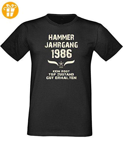 Geschenk Zum Geburtstag : : Geschenkidee Herren Kurzarm Geburtstags Sprüche  T Shirt Mit Jahreszahl : : Hammer Jahrgang 1950 : : Geburtstagsgeschenk  Männer ...