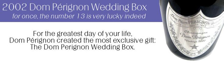 Dom Perignon Wedding  Oh the possibilities but not the price lol