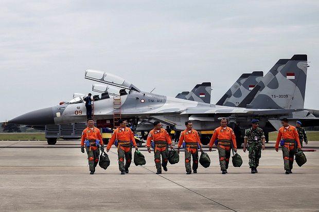 Ribuan Pasukan dan Jet-jet Tempur Indonesia Manuver di Natuna
