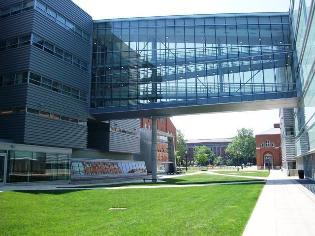OSU - The Ohio State University - Explore Campus in this Photo Tour: Scott Laboratory at the Ohio State University