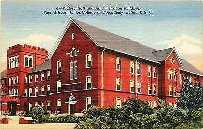 Belmont North Carolina 1944 Sacred Heart Junior College Academy Vintage Postcard