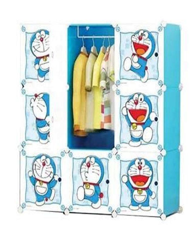 9 Cubic Diy Plastic Magnetic Door Baby Cabinet & Hanging
