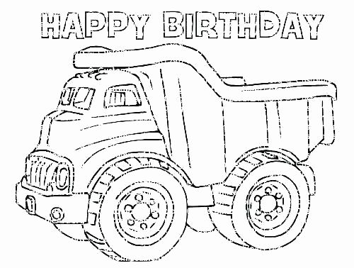 Tonka Truck Coloring Pages Luxury Dump Truck Colouring ...