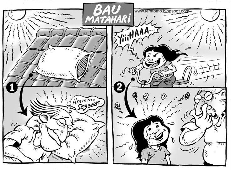 Mice Cartoon, Kompas Minggu Edisi 07 Agustus 2016: bau Matahari
