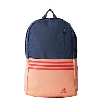 Rebel Sport - adidas Versatile 3 Stripe Blue/Red 32 Litre