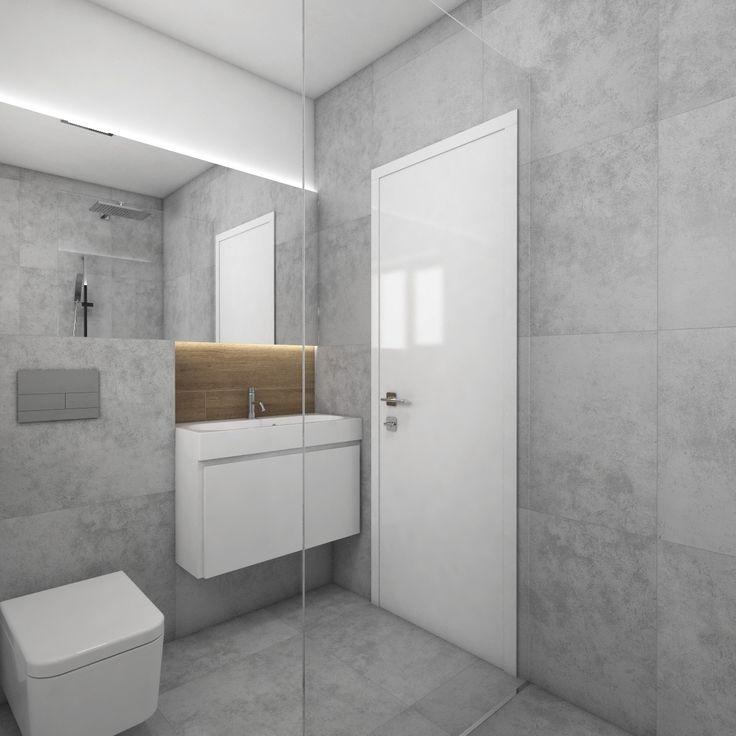 Moderná kúpeľňa GRIGIO - vizualizácia