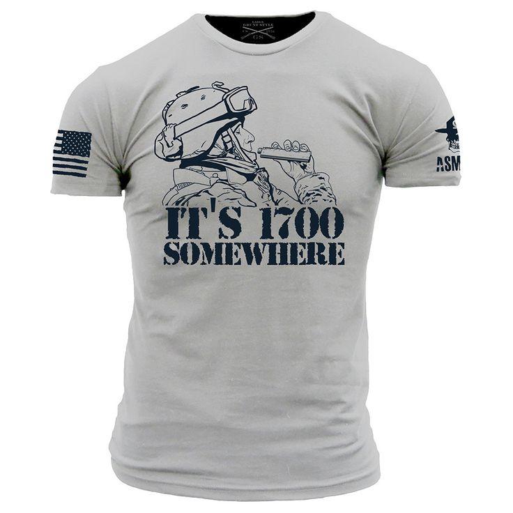 1700 Somewhere T-Shirt- Grunt Style ASMDSS Men's Tee Shirt