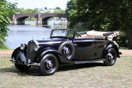Mercedes Benz 230 Cabriolet B For Sale 1938 Idee Cadeau