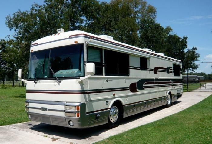 Recreational Vehicles Diesel Pushers 1993 Bluebird/Wanderlodge Located In Richmond, Texas $52K