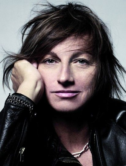 This is Gianna Nannini, she was born in Siena and is a famous singer.