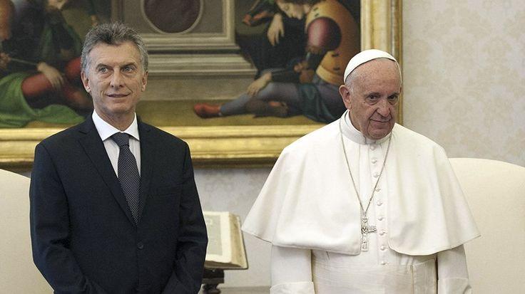 VATICANO – O presidente da Argentina Maurício Macri foi ao encontro do papa Francisco,no Vaticano, masa visita não demorou mais do que 22 minutos. Sua Santidade não estava coma mesma anima…