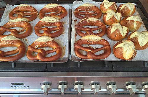 Schwäbische Laugenbrezel (Rezept mit Bild) von romasieu | Chefkoch.de