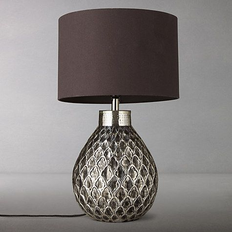 Buy john lewis calbuco patterned base table lamp online at johnlewis com