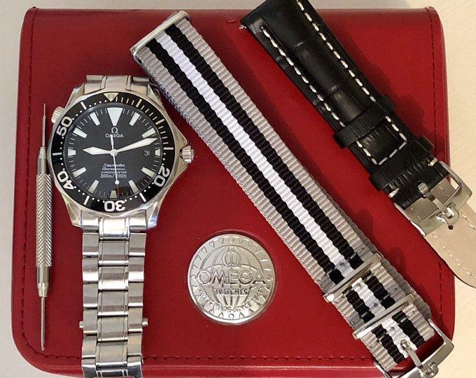 Omega Seamaster Professional Automatic Cal 1120 300m Full Size 41mm Case 168 1640 Cal 1120 Box 2054 50 00 Box Nat Vintage Watches Watches Apple Watch Bands