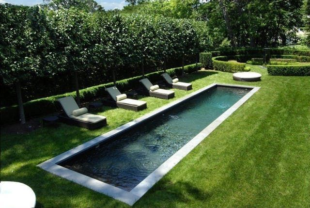 Beautiful Modern Lap Pools: Photos and Inspiration   Apartment Therapy