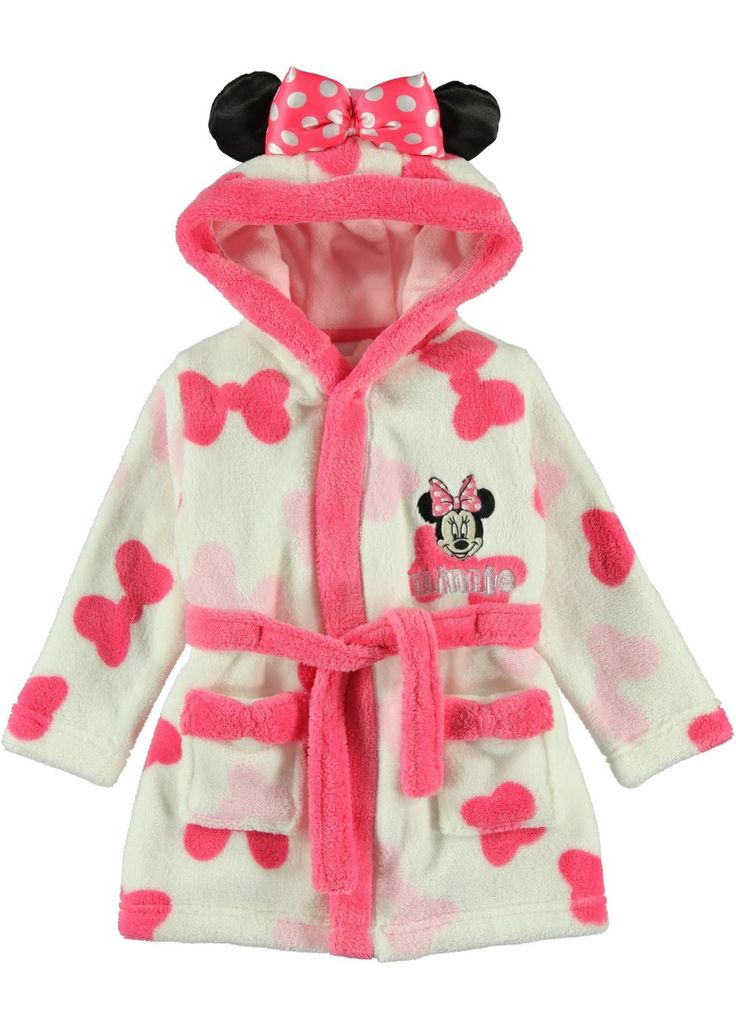 Girls Minnie Mouse Dressing Gown Matalan With Images
