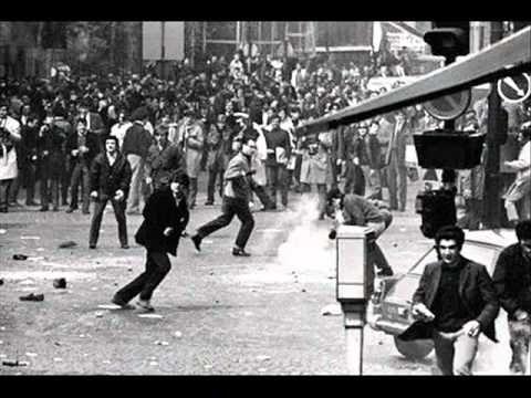 1er movimiento estudiantil en 1968 (Francia).wmv