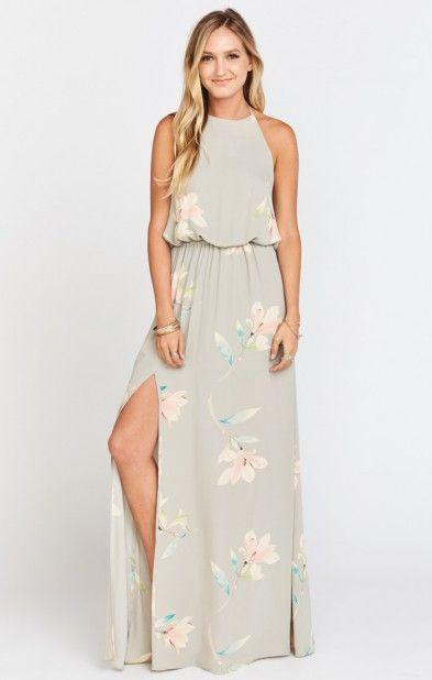 Heather Halter Dress ~ Lily Showers | Show Me Your MuMu