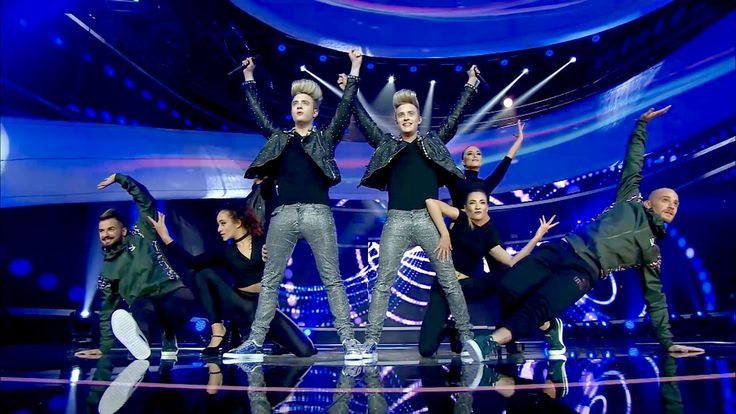 """JEDWARD on Twitter: """"Singer Songwriters Jedward Performing their latest single 'Hologram' Live on Eurovision 2016  https://t.co/gvVn0OuvJq https://t.co/woCNAkKTca"""""""